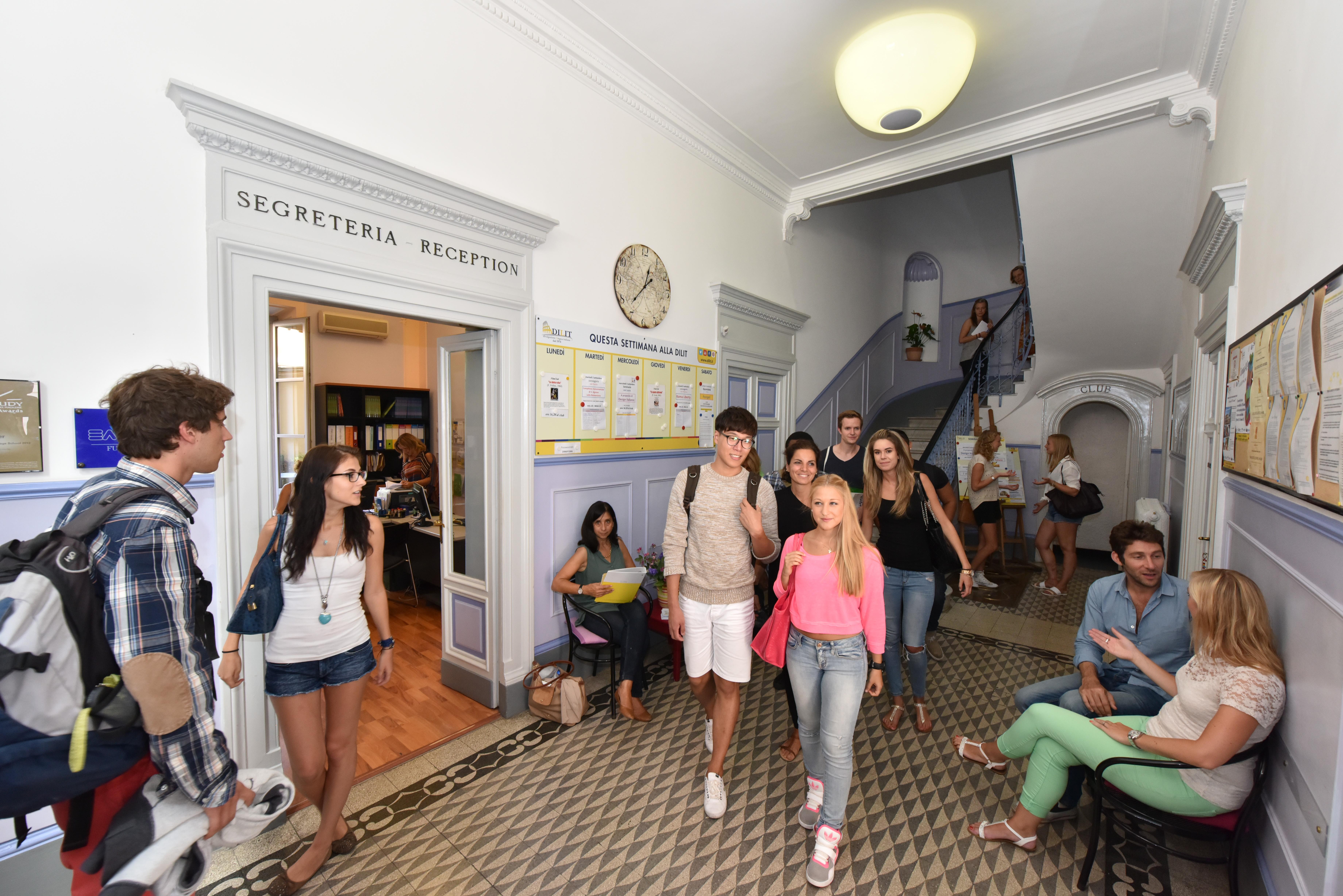 Online Business Schools >> DILIT-IH Rome language school, Rome, Italy | IH World