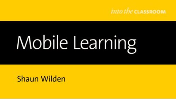 Shaun Wilden publishes book on mobile learning