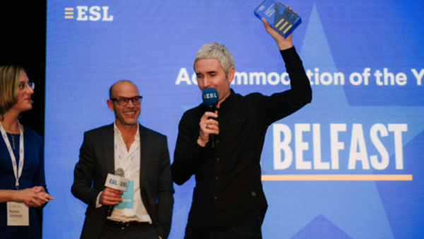 IH Belfast – Winners at the 2017 ESL Language Travel Awards