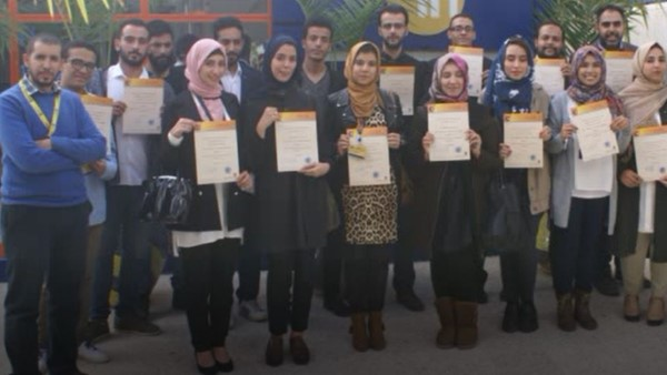IH Benghazi Holds Graduation Ceremony for Trainees