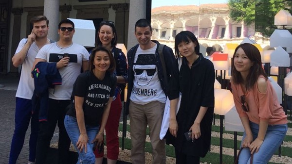 IH Milan students attend Design Week