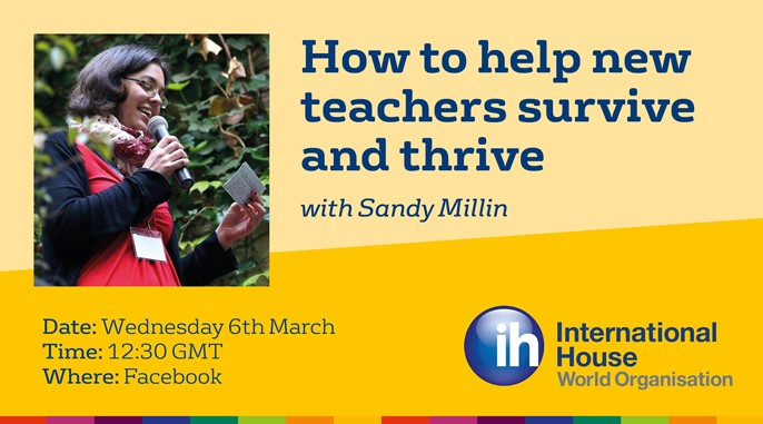 IH Facebook Live: How to help new teachers survive and thrive